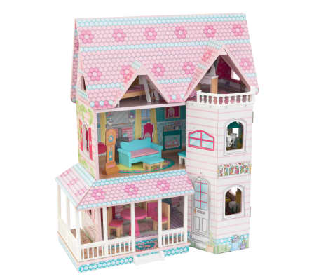 KidKraft Maison de poupées à 3 étages Abbey Manor 60,58x32,77x71,76 cm[1/9]