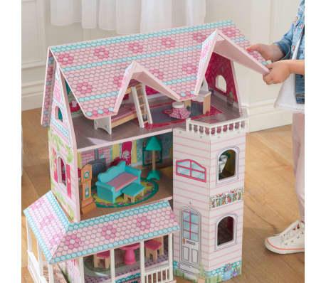 KidKraft Maison de poupées à 3 étages Abbey Manor 60,58x32,77x71,76 cm[6/9]