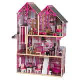 KidKraft Casa de muñecas de 3 pisos Bella 93,98x32,26x124,46 cm