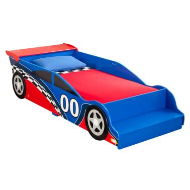 KidKraft Peuterbed Race Car rood en blauw[1/9]