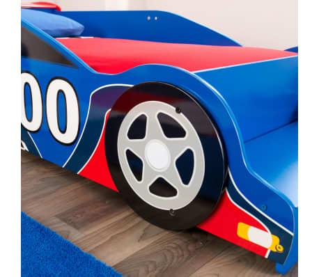 KidKraft Peuterbed Race Car rood en blauw[4/9]