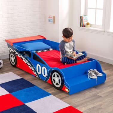 KidKraft Peuterbed Race Car rood en blauw[3/9]