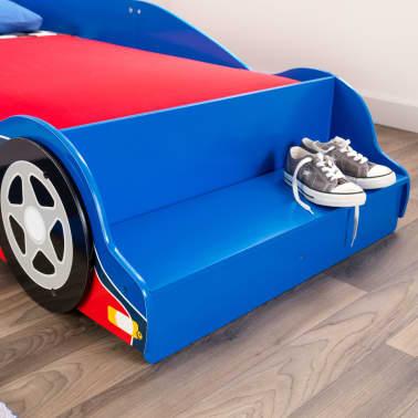 KidKraft Peuterbed Race Car rood en blauw[5/9]