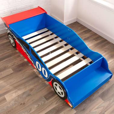 KidKraft Peuterbed Race Car rood en blauw[6/9]