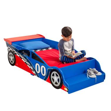 KidKraft Peuterbed Race Car rood en blauw[9/9]