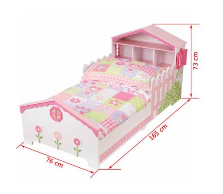 kidkraft kinderbett mit stauraum 165 x 76 x 73 cm puppenhaus 76255 g nstig kaufen. Black Bedroom Furniture Sets. Home Design Ideas