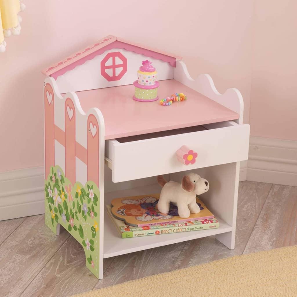 99417919 KidKraft Nachttisch mit Schublade 33 x 30,5 x 42 cm Puppenhaus 76257