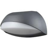 Luxform Sodo sieninis šviestuvas LED Lyon, antrac. ir balt., LUX1601Z