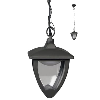 Lux1609z Luxform De Anthracite Lampe 230 Jardin Led V Luxembourg nPO8Xw0k