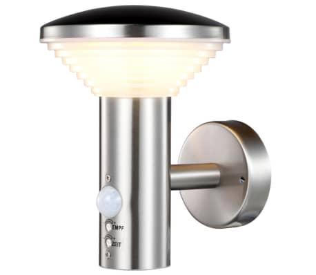 acheter luxform lampe led de jardin avec capteur pir trier 230 v lux1701s pas cher. Black Bedroom Furniture Sets. Home Design Ideas