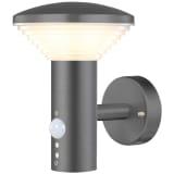 Luxform Sodo sieninis LED šviestuvas Bitburg su PIR jutikliu, 230V