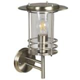 Luxform Sieninis sodo šviestuvas Phoenix, sidabrinis, 230V, LUX1706S
