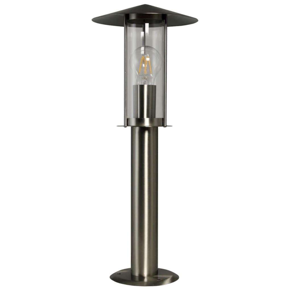 Luxform Stolpelys hage Utah sølv 230 V LUX1709S