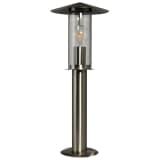 Luxform Pastatomas sodo šviestuvas Utah, sidabrinis, 230V, LUX1709S