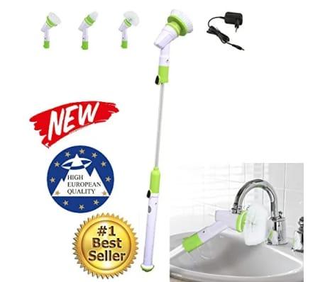 Tavalax spin scrubber cepillo de fregado eléctrico, limpiador y limpia[2/7]