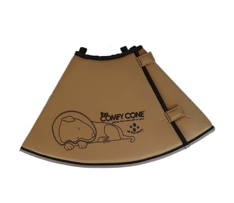 All Four Paws E-halsband Comfy Cone L 25 cm tan