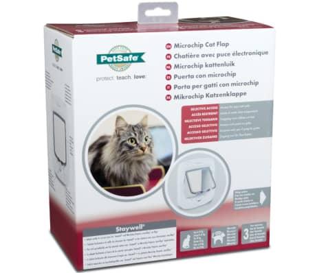 PetSafe Kattlucka med mikrochip vit PPA19-16145[9/9]