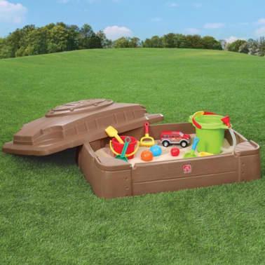 Cajón de arena para niños Step2 Play & Store 830200[7/7]