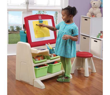 Step2 Easel Desk With Stool Flip Amp Doodle 836500 Vidaxl
