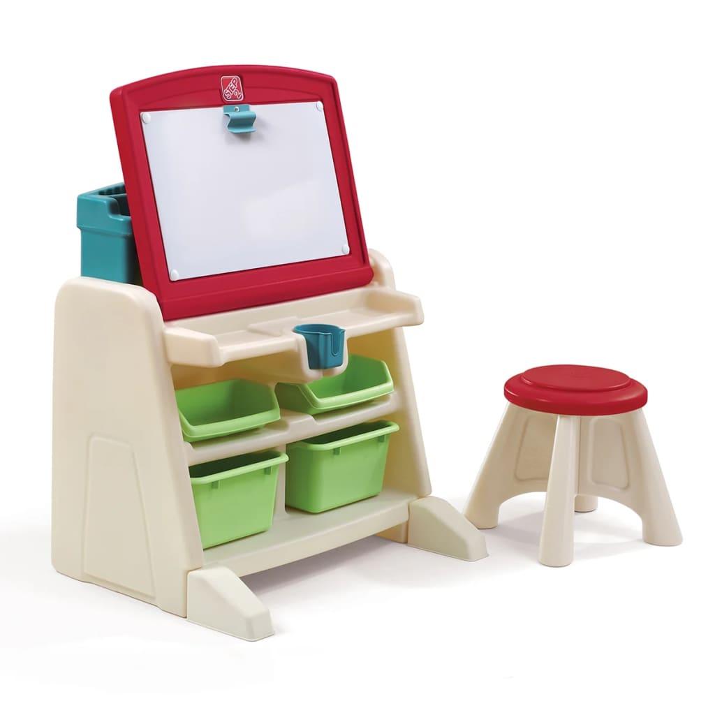 Step2 Easel Desk With Stool Flip Doodle 836500 For Sale In Uk