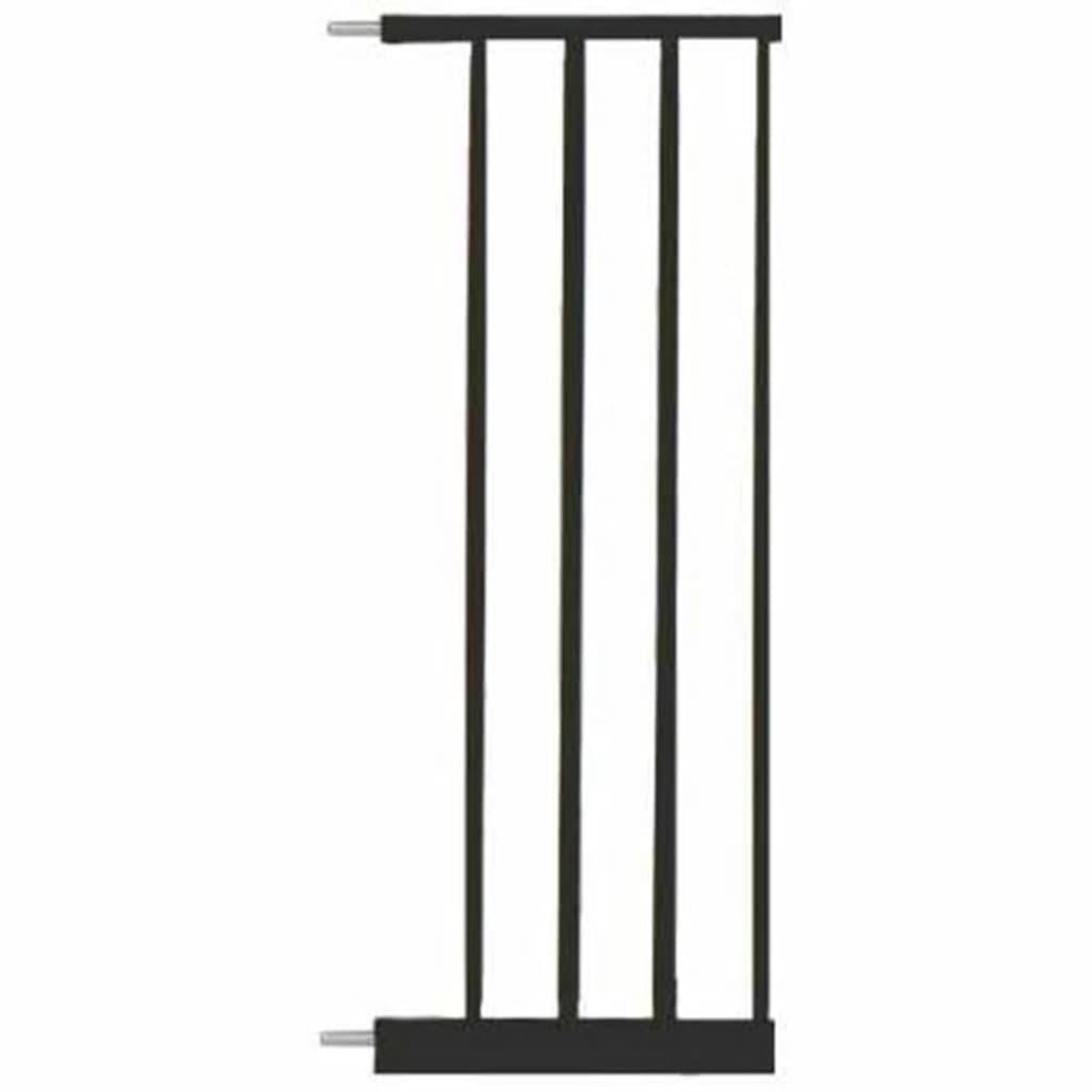 Afbeelding van Noma Verlengstuk traphekje Easy Pressure Fit 28 cm metaal zwart 93834