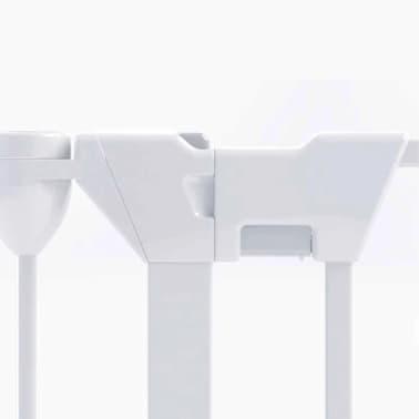 Noma Apsauginiai varteliai Modular, 5 plokštės, metalas, balta spalva[5/6]