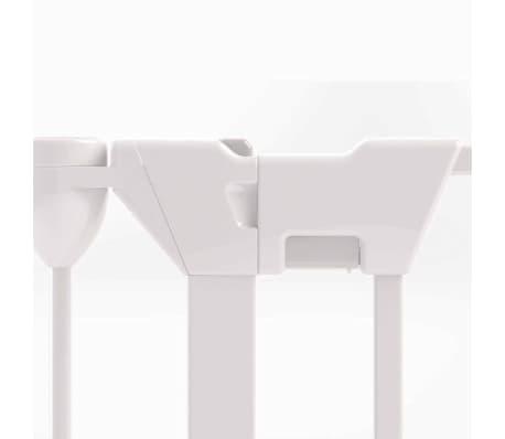 Noma 3-Panel sikkerhetsgrind Modular metall hvit 94054[4/6]