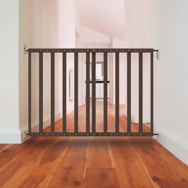 Noma Mediniai išskleidžiami apsauginiai varteliai, pilki, 63,5-106 cm[5/5]