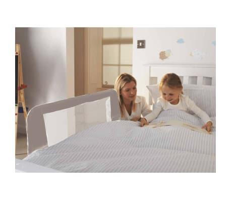 acheter noma barri re de lit gris 94283 pas cher. Black Bedroom Furniture Sets. Home Design Ideas