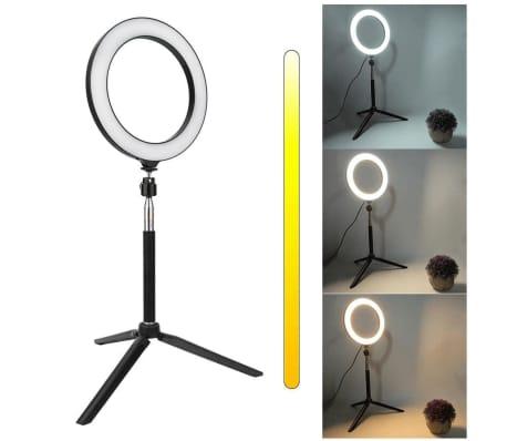 Lampe Selfie / Lampe annulaire (15 cm) et pied[3/3]