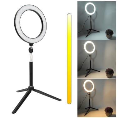 Lampe Selfie / Lampe annulaire (20 cm) et pied[3/3]