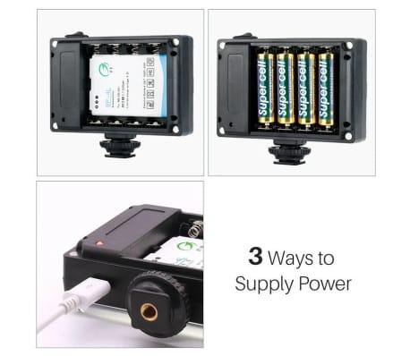 Caméra LED Portable avec 2 Filtres de Couleur[4/7]
