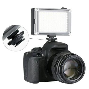 Caméra LED Portable avec 2 Filtres de Couleur[3/7]