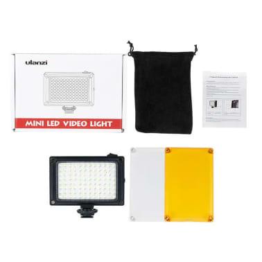 Caméra LED Portable avec 2 Filtres de Couleur[7/7]