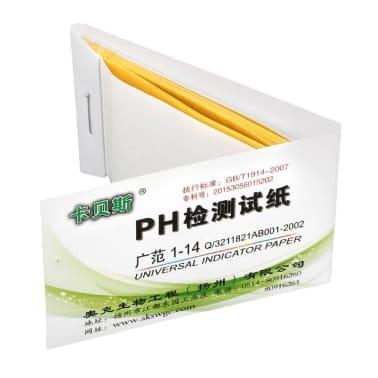 Papier laque indicateur de pH, 80x[1/2]