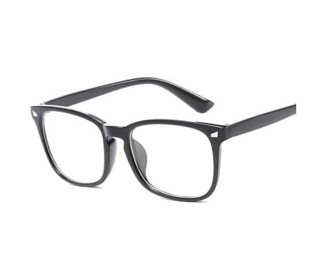 Anti blått ljus / Anti Blue Light Glasögon - Svart