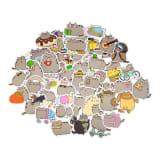 100x Stickers - Pusheen