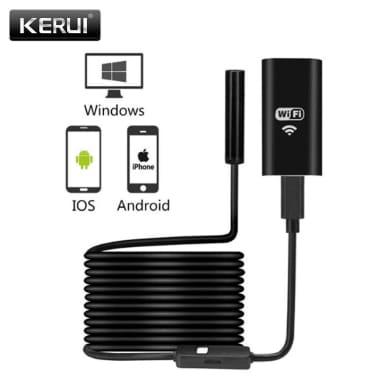 2 m - Endoscope WiFi avec Accessoires et Lumière Ajustable[2/6]