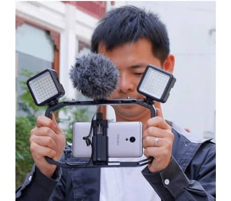 Plateforme vidéo portable pour DSLR caméra, mobiles et GoPro[6/6]