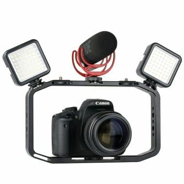 Plateforme vidéo portable pour DSLR caméra, mobiles et GoPro[3/6]