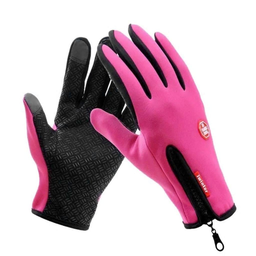 eStore Touch Handskar, Rosa - S