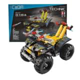CaDFI Byggblock - Fyrhjuling med dragfunktion