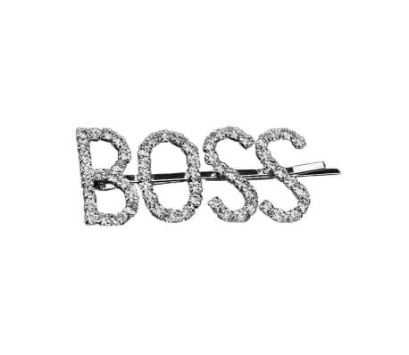 Hårnål med text - Boss Nr. 1