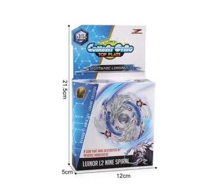 Combat Gyro Top Plate - Luinor L2 Nine Spiral[7/7]