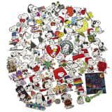 50x Autocollants - Snoopy