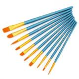 10x Penslar i olika storlek
