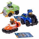 Paw Patrol automobilių rinkinys Rescue Racers 4, 3d., 6024059