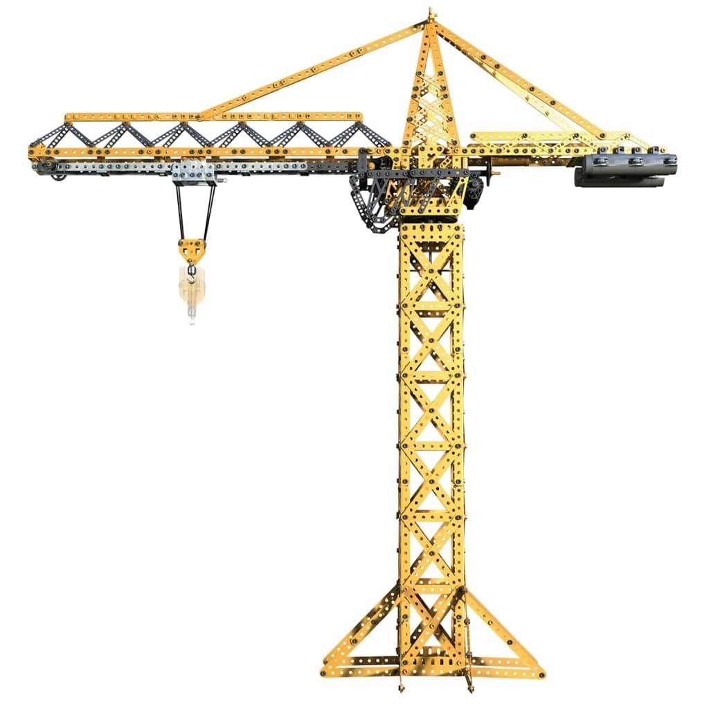 Meccano macara de construcții automată tip turn 6024905 poza vidaxl.ro