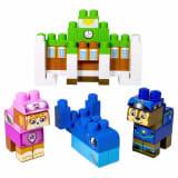Paw Patrol 70 Piece Ionix Block Set Adventure Bay 6026145