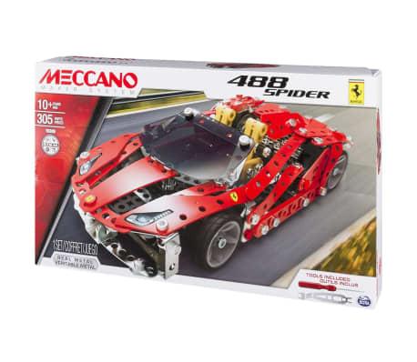 Ferrari En 6028974 488 Spider Voiture Meccano Jouet yvPm0OwN8n